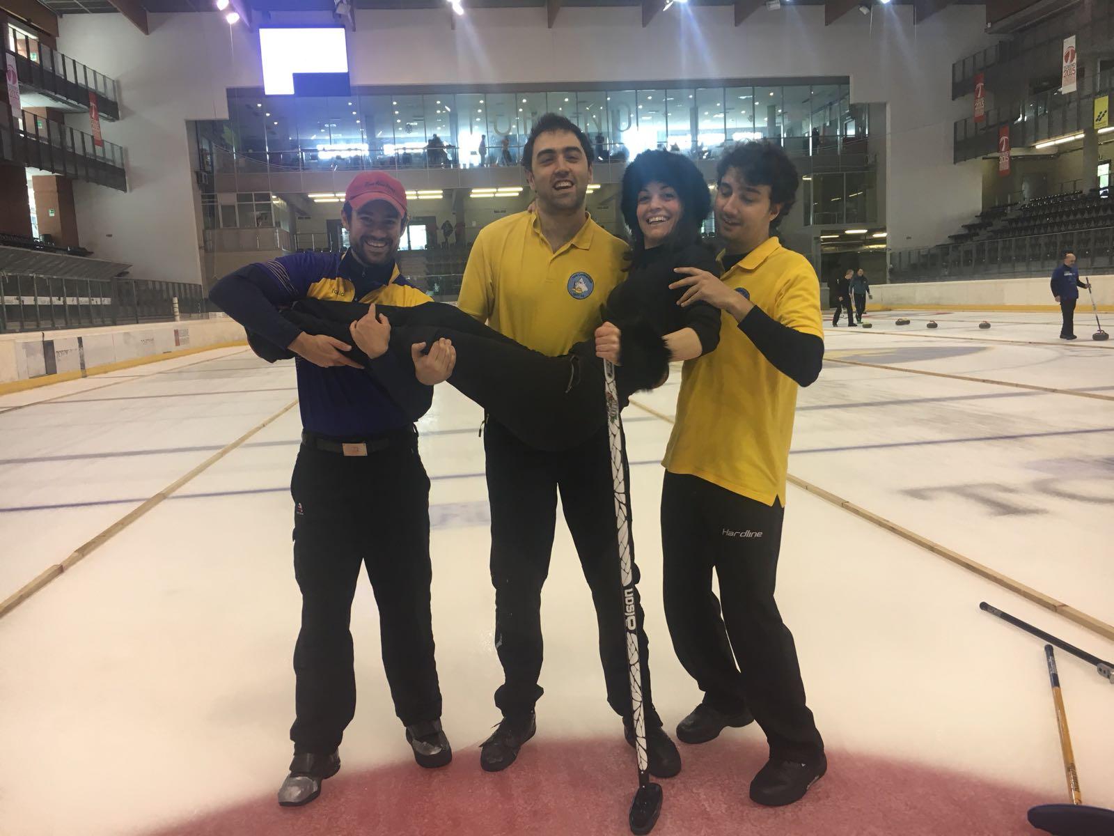 6th Turin Curling Cup, Torino 4/6 maggio 2018