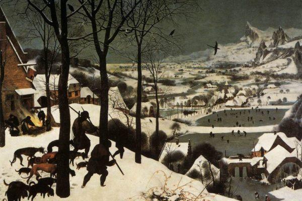 Cacciatori nella neve (Gennaio)
