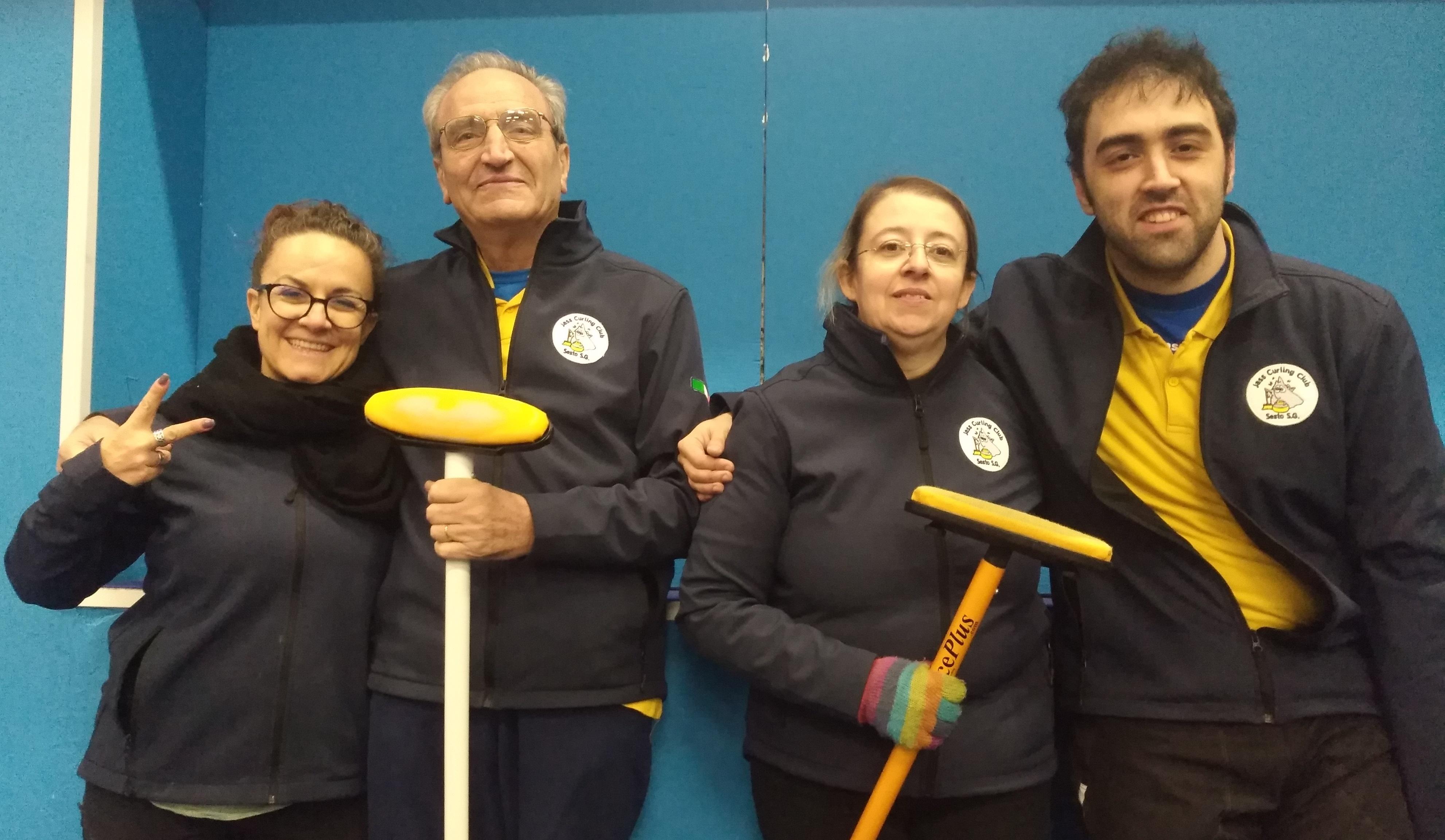 Campionato Mixed Doubles – girone di qualificazione Sesto San Giovanni