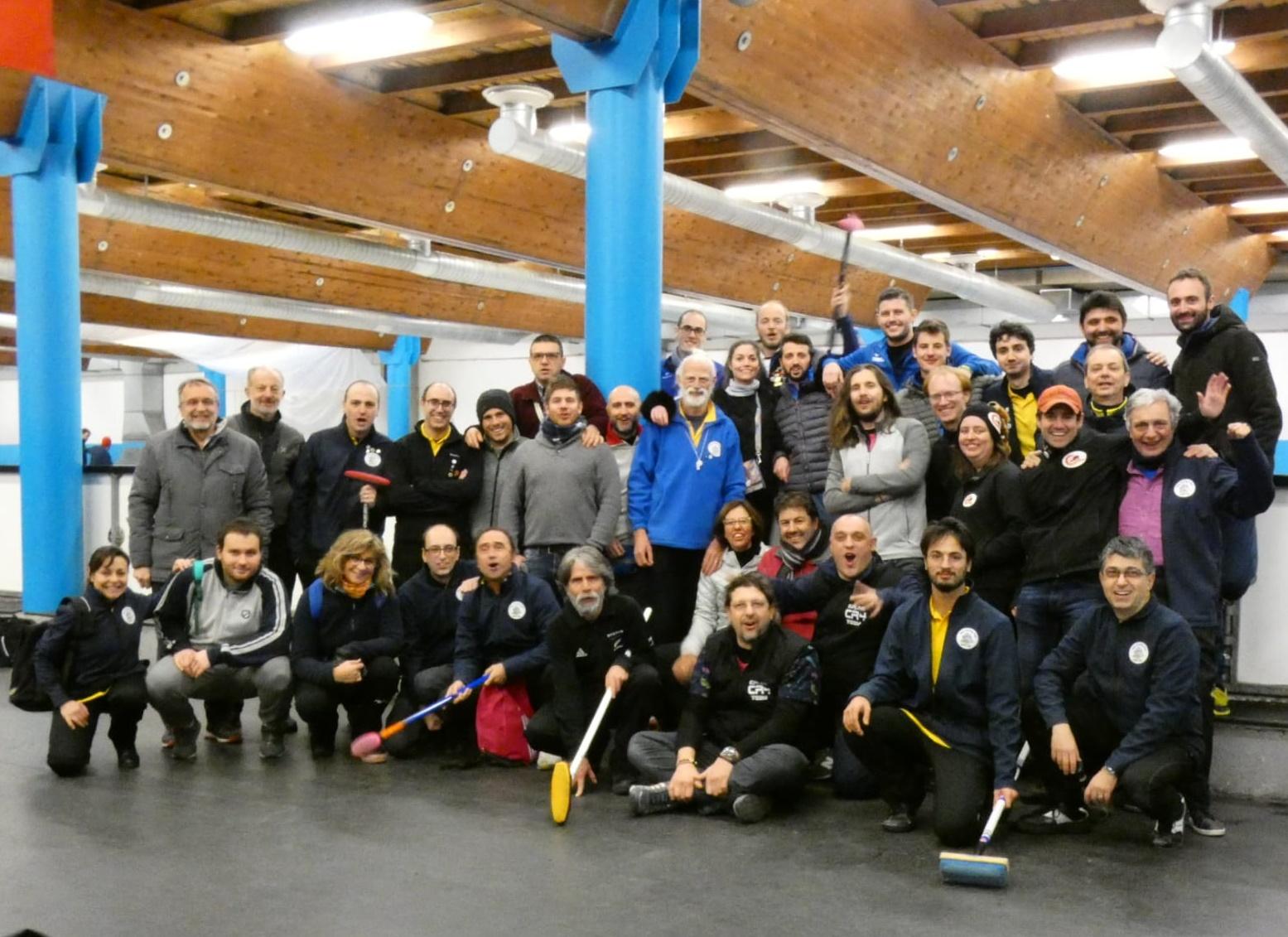 Torneo Internazionale Jass Curling Club 2018, Sesto San Giovanni 8 e 9 dicembre 2018
