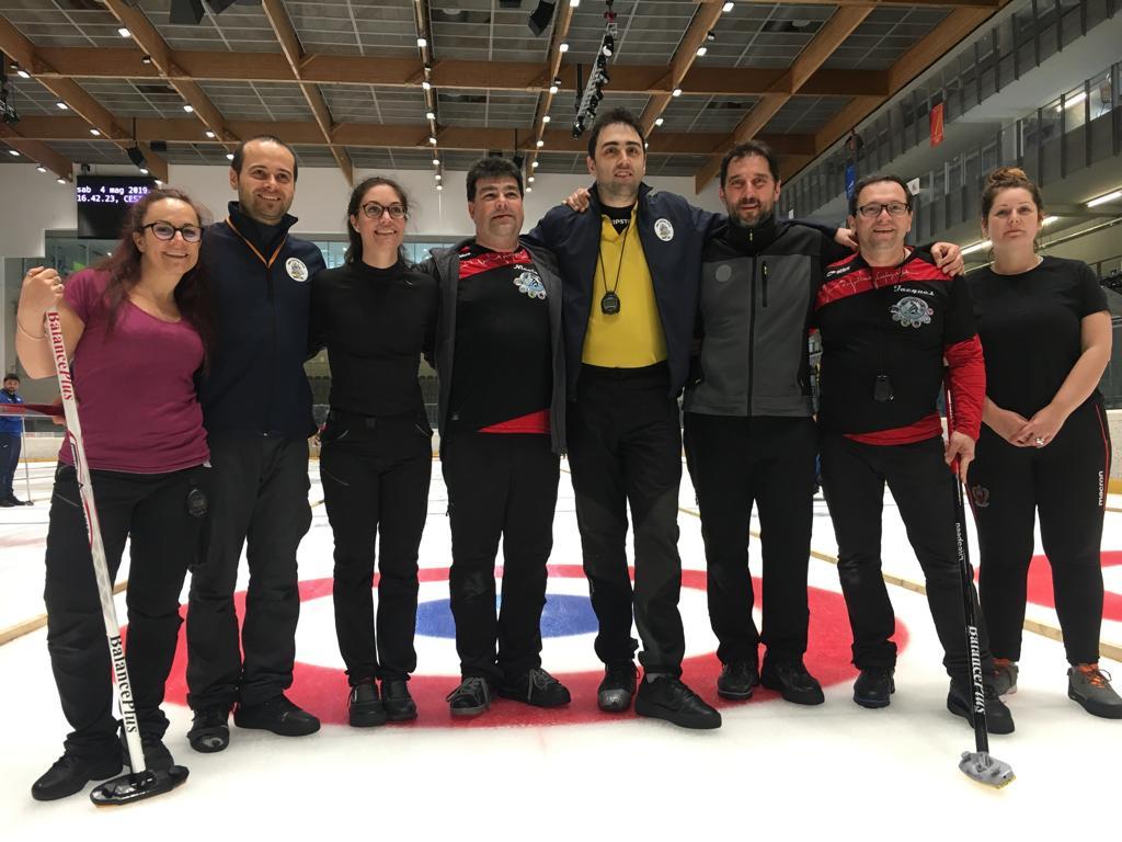 7th Turin Curling Cup, Torino 3/5 maggio 2019