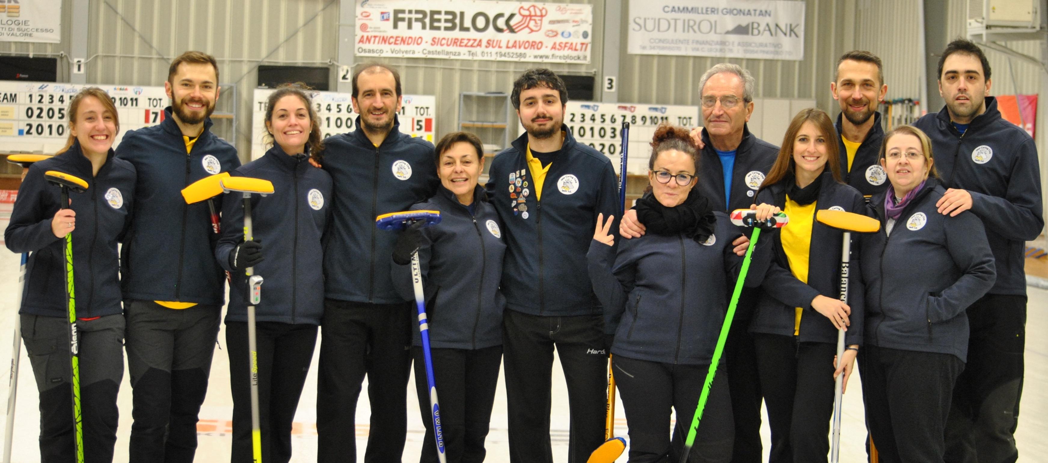 Campionato Mixed Doubles 2019/20 – girone di qualificazione Sesto San Giovanni