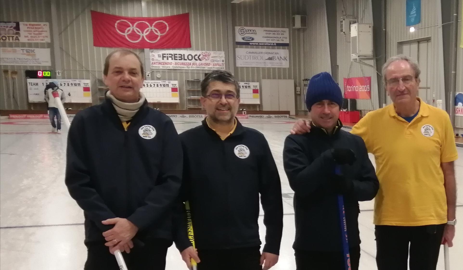 Campionato Over 50 Maschile, Pinerolo 21 e 22 dicembre 2019